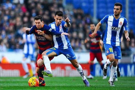 برشلونة والاسبانيول قمة الجولة الثالثة لليغا  الإسبانية