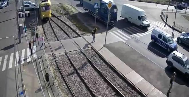 فيديو مروع لحادث