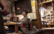بالفيديو.. صاحب مقهى ياباني يوظف قرودا !!