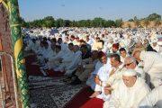 تيزنيت.. مصلون يؤدون صلاة العيد