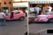 مراكش.. هذه هي حقيقة اقتلاع نخلة وسقوطها فوق سيارة تسير بالشارع