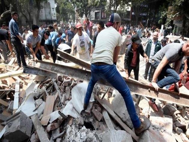 مصادفة غريبة.. في نفس الساعة واليوم من 1985 زلزال قوي ضرب المكسيك