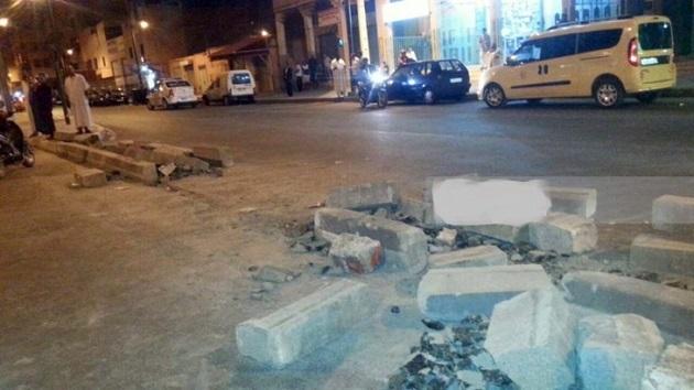 مراكش.. استنفار أمني بعد فتح مواطنين لطريق أغلقتها السلطات