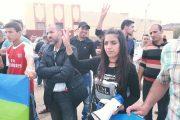 سيليا تعلق اعتصامها والقضاء يسقط الدعوى العمومية في حقها
