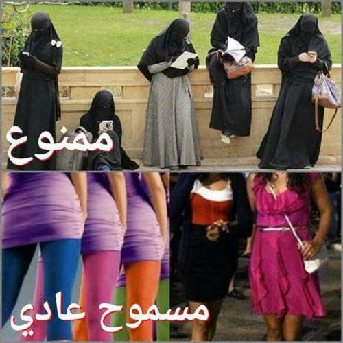 بعد منع النقاب.. حملة فايسبوكية لمنع الملابس القصيرة والضيقة بالمدارس