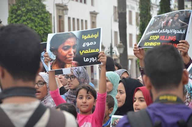 هكذا تضامن المغاربة مع مسلمي