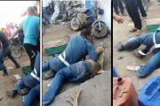 فيديو يظهر اعتداء شخصين على رجلي درك يثير سخط الفايسبوكيين