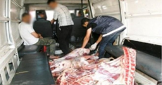 بوفكران.. حجز 900 كيلوغراما من اللحوم منقولة في شروط غير صحية