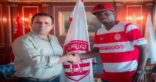 حديث عن فسخ النادي الإفريقي التونسي لعقده مع أونداما