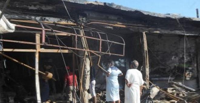 الدار البيضاء.. حريق بسوق لبيع الدراجات يخلف خسائر مادية كبيرة
