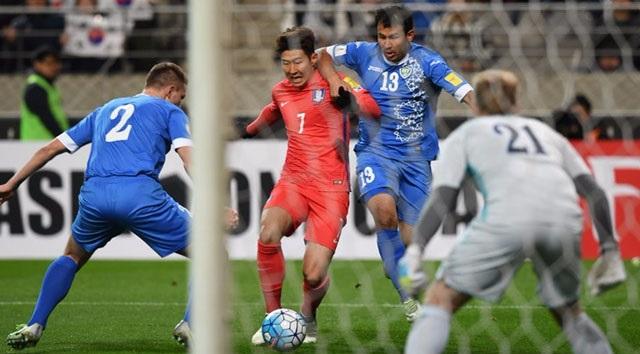 منتخب كوريا الجنوبية في النهائيات للمرة العاشرة في تاريخه