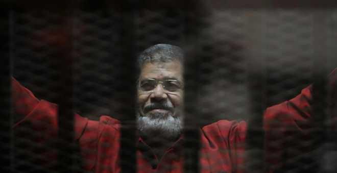 حكم نهائي على مرسي بالسجن المؤبد في قضية التخابر مع قطر