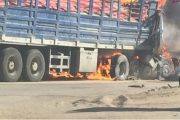 مصرع ثلاثة أشخاص بعد اصطدام شاحنتين في الطريق السيار بين أكادير ومراكش