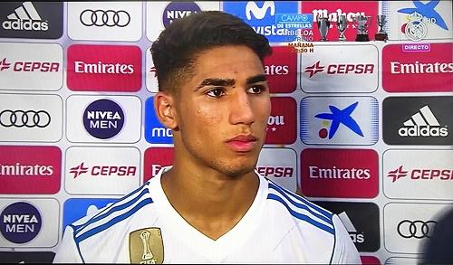 حكيمي يخرج عن صمته بخصوص عودته إلى ريال مدريد