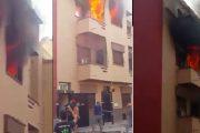 الجديدة.. حريق يأتي على شقة سكنية والسبب شاحن الهاتف مرة أخرى