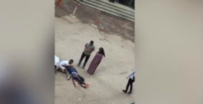 بالفيديو.. مقتل شاب أثناء محاولته التحرش بفتاة وخطفها