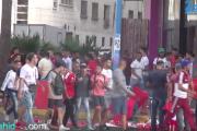 بالفيديو .. أجواء حماسية قبل انطلاق مباراة المغرب والغابون