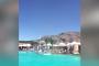 شاهد ماذا فعل إعصار صغير بحوض سباحة في منتجع سياحي