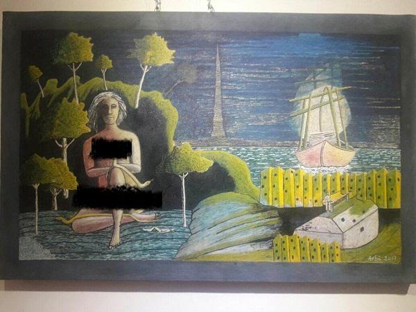 أيت ملول.. استياء لعرض لوحات فنية مثيرة في معرض تشكيلي