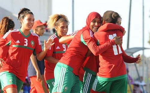 المنتخب النسوي يقترب من مونديال فرنسا 2018