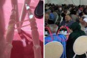 حزب الاستقلال يربط الكراسي ويستغني عن الصحون والكؤوس الزجاجية