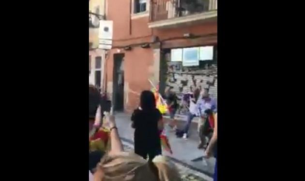 اعتداء على مغاربة خلال مسيرة ضد انفصال كاتالونيا