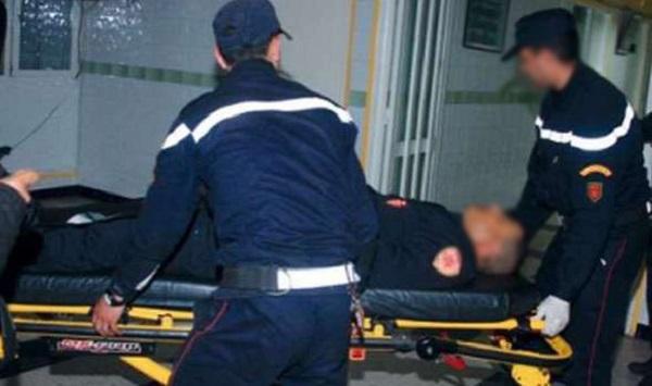 الناظور.. سيارة أمنية ترسل شرطيا إلى المستعجلات خلال مطاردة مختل عقليا