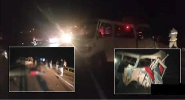 بين طنجة وأصيلة.. مصرع 6 أشخاص وإصابة 13 آخرين في حادثة سير