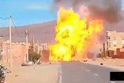 انفجار قنينات غاز بشاحنة يرعب سكان حي بتنغير