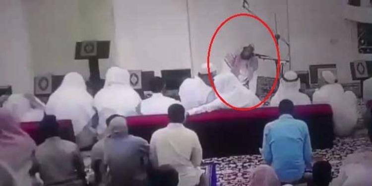 بالفيديو.. داعية مشهور يلفظ أنفاسه الأخيرة بعد انتهائه من الصلاة