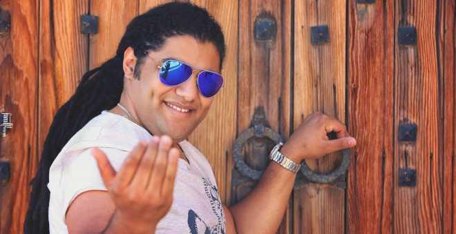 فريد غنام مع نصير شمة في تونس