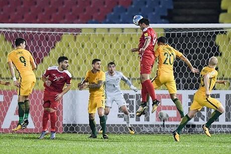 سوريا تنهي مباراة الذهاب بالتعادل أمام استراليا