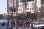 الدار البيضاء.. اعتداء قاصرين على طاكسي في الشارع العام والشرطة تعتقل عددا منهم