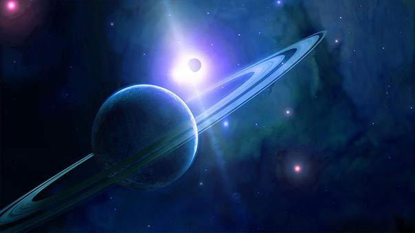 كوكب أورانوس يقترب من الأرض ويمكن رصده بالعين المجردة