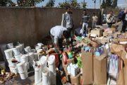 ضبط أطنان من المواد الغذائية المهربة شرق المملكة