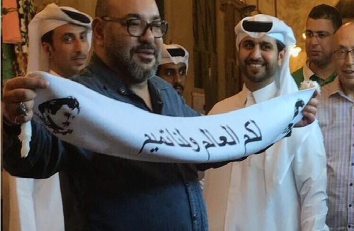 الحكومة القطرية تفتح تحقيقا في صورة الملك محمد السادس