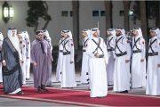 قطريون متفائلون بزيارة الملك.. و''كاسر الحصار'' يلهب مواقع التواصل