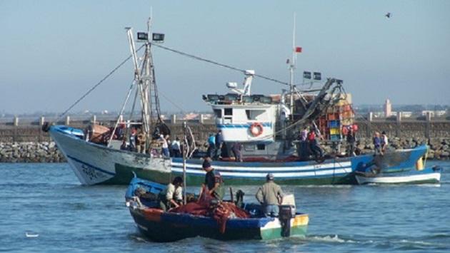رجال البحر يخوضون إضرابا مفتوحا عن العمل