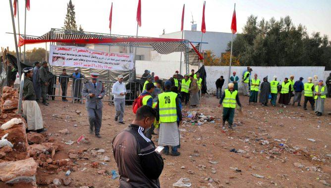 كبار مسؤولي ''مراكش آسفي'' يشيعون جثامين ضحايا فاجعة التدافع