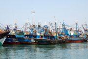 اصطدام بين مركب وسفينة يستنفر مصالح ميناء الداخلة
