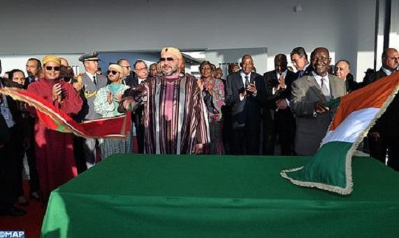 """الملك يدشن مركز التكوين المهني متعدد التخصصات """"محمد السادس"""" بأبيدجان"""