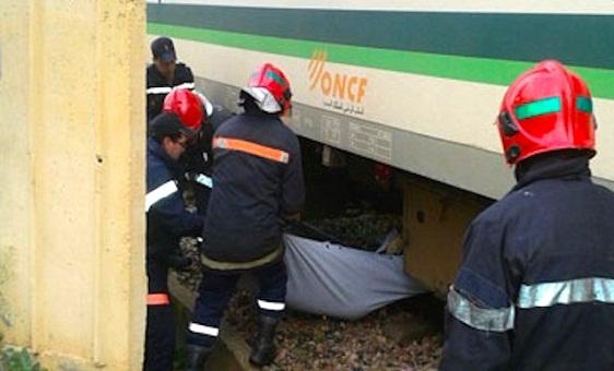 قطار الخليع يقتل شرطيا وسط سطات