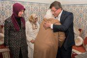 داوود أوغلو يزور عائلة الشاب الطنجاوي الذي قتل في انقلاب تركيا