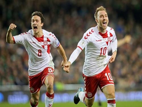 الدنمارك تتأهل إلى المونديال الروسي