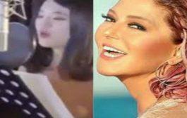 بالفيديو.. شابة كورية تغني للنجمة المغربية