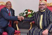 زوما يخرج بتصريحات مزعجة للبوليساريو ويتفاءل بعلاقة بلاده والمغرب الجديدة