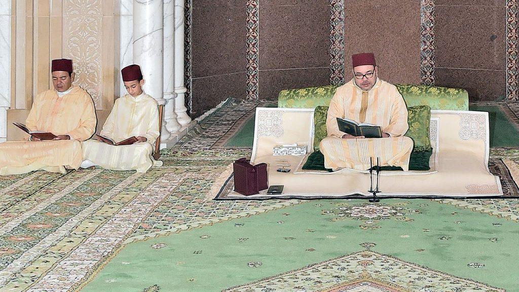 الملك محمد السادس يترأس بالرباط حفلا دينيا إحياء لليلة المولد النبوي الشريف