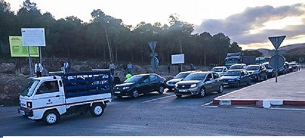 مقتل مهرب على يد أحد حرس الحدود يخرج المواطنين للاحتجاج