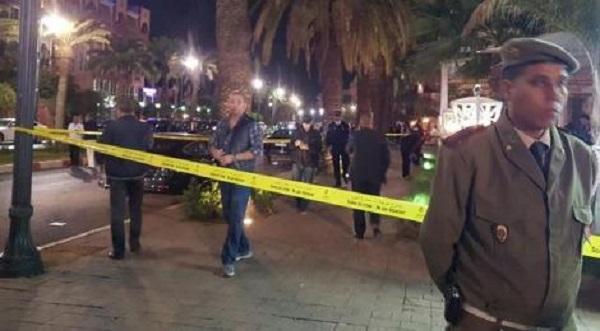 الأمن يوقف 6 أشخاص لصلتهم بهجوم مقهى مراكش