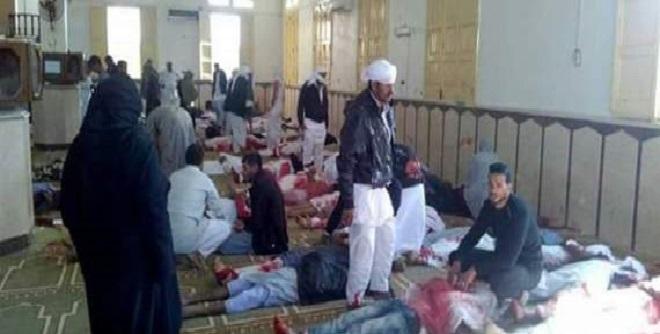 مصر.. تفجير إرهابي في مسجد شمال سيناء والحديث عن وفيات وإصابات بليغة